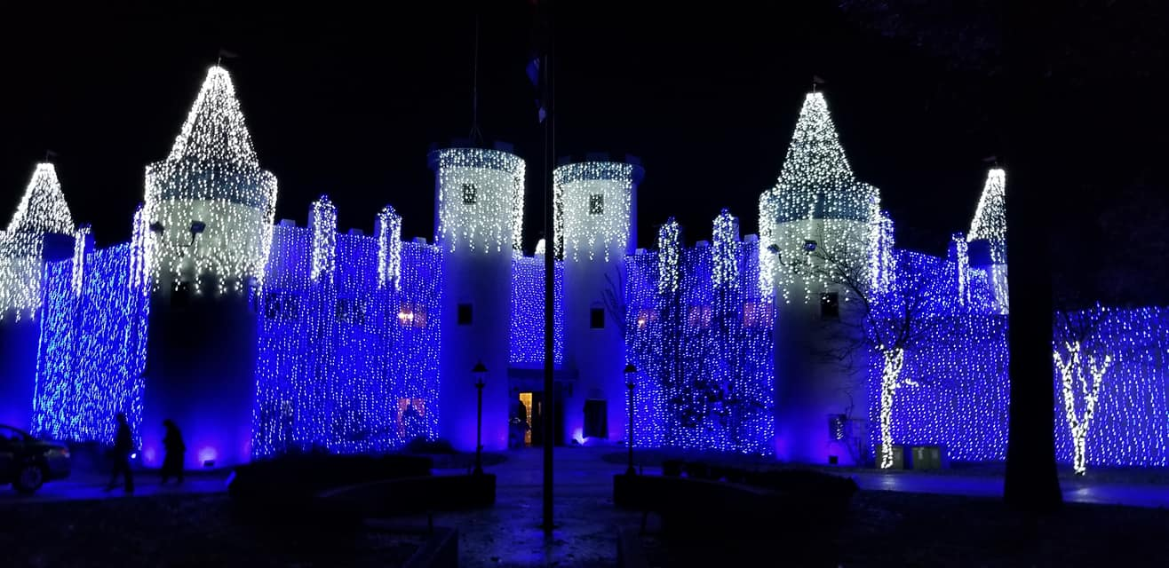The Castle WILL BE LIT!